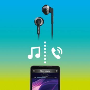Control inalámbrico para música y llamadas