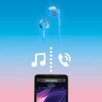 Müzik keyfi ve çağrılar için kablosuz kontrol