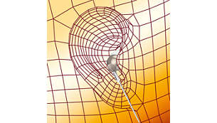 Oval sound tube insert provides ergonomic comfort fit