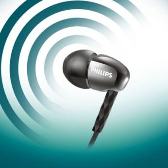 Les haut-parleurs puissants produisent un son clair et des basses profondes