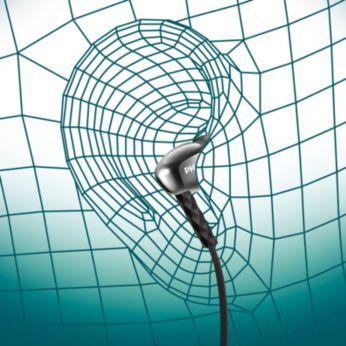 Conception ergonomique grâce à l'insertion d'un embout ovale