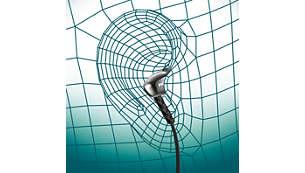 Oval tube insert provides ergonomic comfort fit