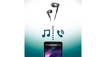 Commande sans fil pour la musique et les appels