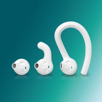 Valige, kas teile sobib kõrvakonks, -uim või nööpkuular