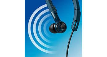 A kiváló minőségű hang ösztönözni fogja