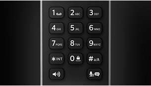 Calibrated keys for precise dialing