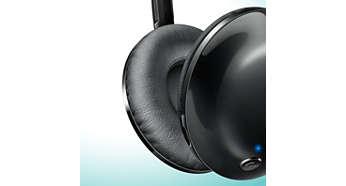 Mjuka öronkuddar för långvarig komfort
