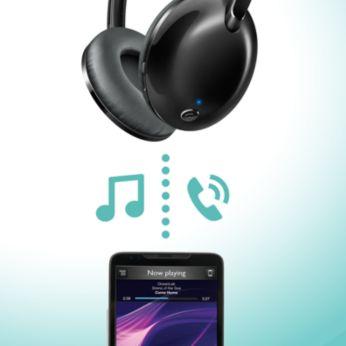 Kaugjuhtimispult vabakäekõnedeks ja muusika kuulamiseks