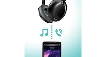 Remote control for handsfree calls and music