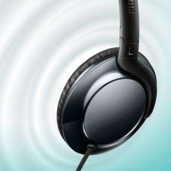 Net ses için yüksek güçlü 32 mm hoparlör sürücüleri