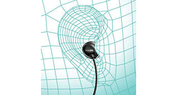 Ergonomic earbuds for a natural fit