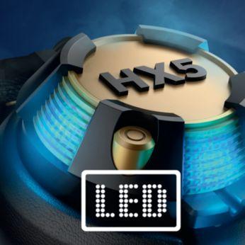 Ярки LED светлини се синхронизират с всеки ритъм на музиката ви