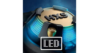 Powerful LED syncs to every beat of your music