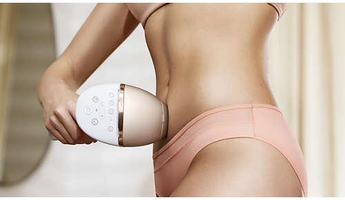 Unikátně zakřivené nástavce pro rozličné oblasti těla