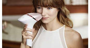 Embout intelligent visage avec design précis et filtre visage supplémentaire
