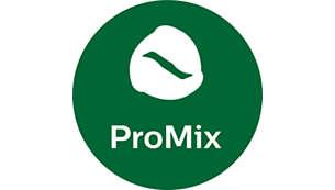 Tecnologia Pro Mix: oferece os melhores resultados de mistura