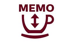 Сохраните настройку объема с помощью функции памяти MEMO