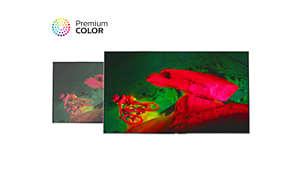 Technologie Premium Color přináší úžasné vylepšení barev