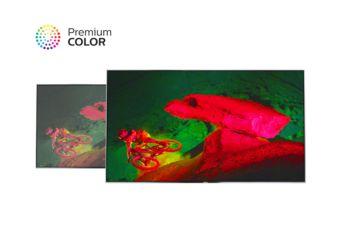 Premium Color обеспечивает непревзойденную цветопередачу