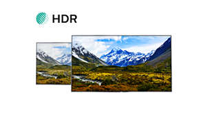 High Dynamic Range brings the image to life