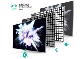 Micro Dimming Pro for incredible contrast