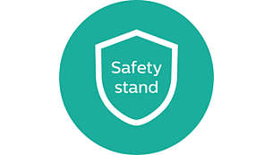 Safety stand for ease of use