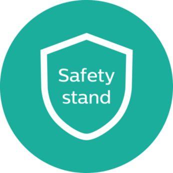 Biztonsági állvány a kényelmes használatért