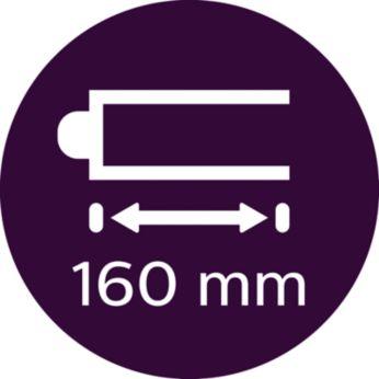 По-дълъг цилиндър за дълга или гъста коса