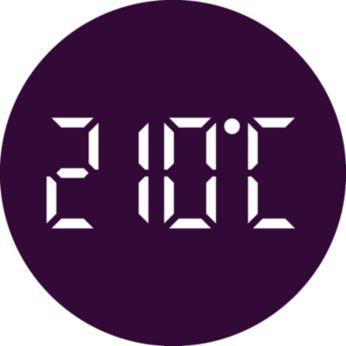 До 210°C за перфектни резултати