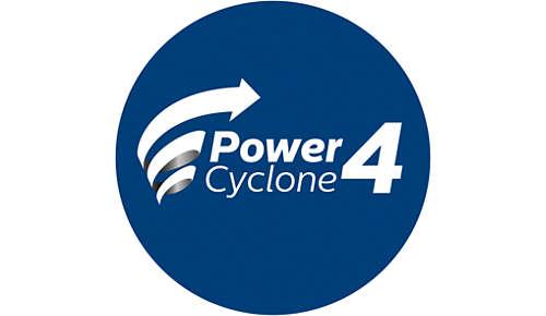 PowerCyclone-Technologie für hohe Leistung beim Staubsaugen
