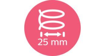 Средний корпус 25мм для классических локонов