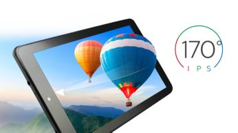 Tecnología de pantalla IPS para ver colores brillantes desde cualquier ángulo