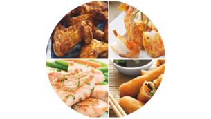 Delicious dishes:tender on the inside, crispy on the outside