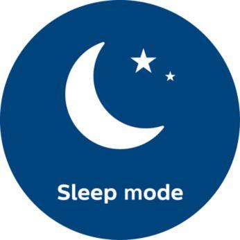 Бесшумный режим сна: уровень шума составляет всего 33дБ