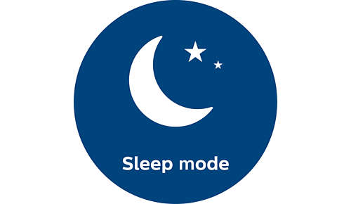 Ultra-silent in sleep mode at only 33 dB