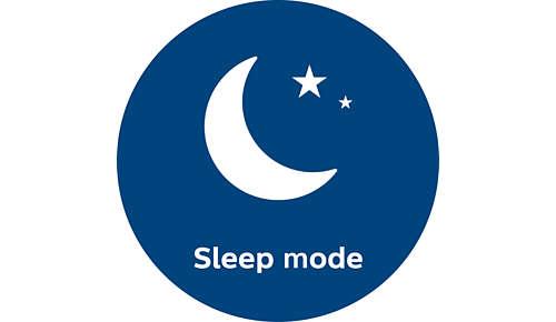 Extra stil in de slaapstand met slechts 33 dB