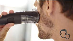 Пазете кожата си, докато подстригвате на разстояние от дори 0,5 мм