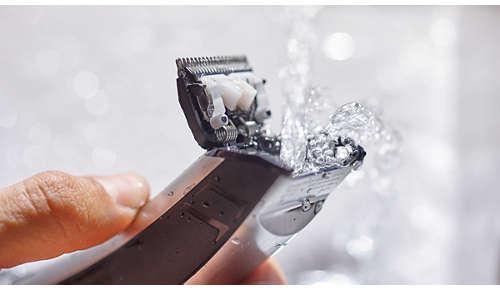 Fácil de limpiar y usar dentro o fuera de la ducha