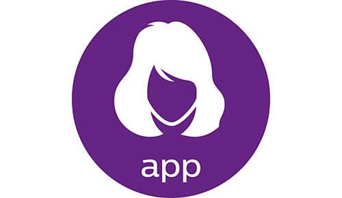 Aplikacja zawierająca proste samouczki i przewodniki z wirtualnymi zmianami fryzur