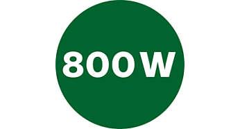 Mocny silnik 800W zapewnia doskonałe rezultaty