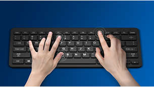 Keys last millions of keystrokes for durability