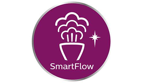 SmartFlow-Heizplatte zur Vermeidung von nassen Flecken