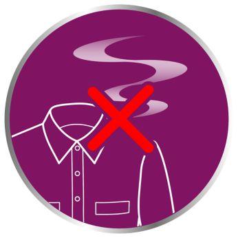 Silny strumień pary usuwa zapachy i zabija 99,9% bakterii
