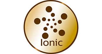Ionos kondicionálás a sima, könnyen fésülhető, ragyogó hajért