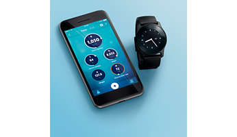 Automatically syncs to the Philips HealthSuite health app