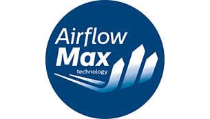 Technologie AirflowMax pour une aspiration puissante ininterrompue