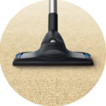 Yumuşak zeminlerde verimli temizlik için CarpetClean