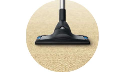 CarpetClean für eine effiziente Reinigung bei weichen Böden