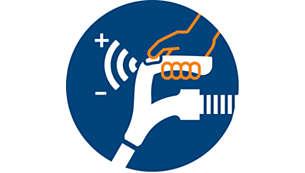 Mâner ErgoGrip cu comandă de la distanţă şi cu butoane de comandă integrate