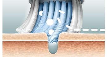 Stap 1: diepe reiniging van de poriën
